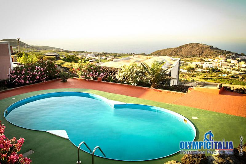 Costruzione Piscina Dammusi Pantelleria
