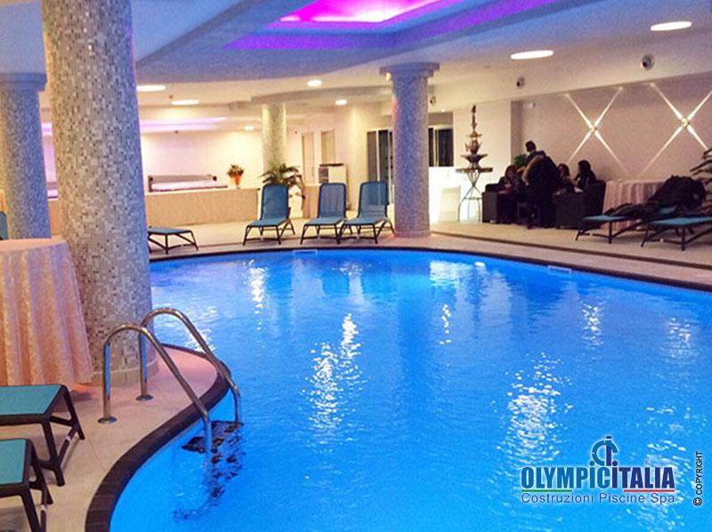 Costruzione Piscina Hotel Calabria
